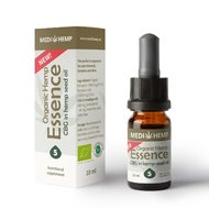 Organic Hemp Essence cu CBG 5%, 10ml
