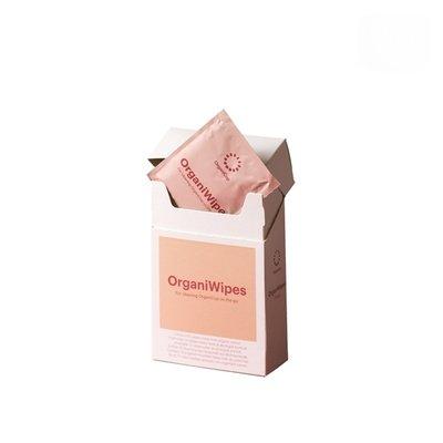 OrganiCup Servetele umede OrganiWipes/ 10 buc