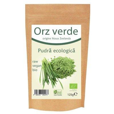 Orz verde pulbere bio Noua Zeelanda 125g
