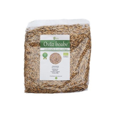 Ovaz boabe pentru iarba de ovaz bio 500g
