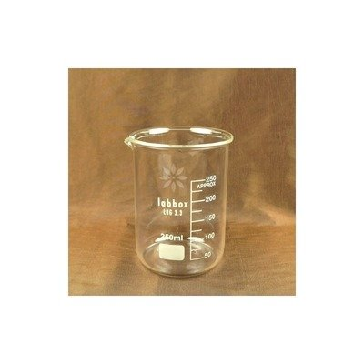 Pahar termorezistent sticla Berzelius, 250 ml
