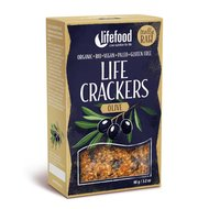 Lifecrackers cu masline raw bio 90g Lifefood
