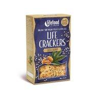 Lifecrackers cu seminte de chia si canepa raw bio 90g Lifefood