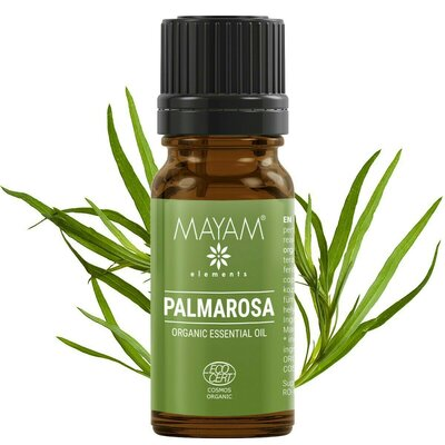 Palmarosa BIO ulei esenţial (cymbopogon martinii) 10 ml