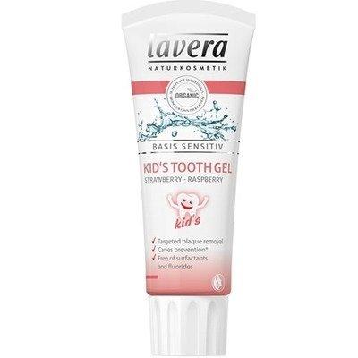 Pasta de dinti BIO pentru copii cu capsuni si zmeura, Basis Sensitiv, 75ml