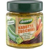 Pasta de legume cu morcovi si zucchini bio 120g Dennree