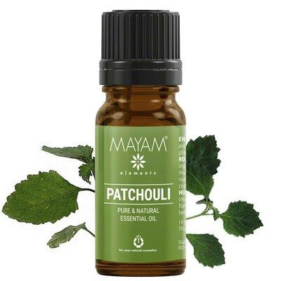 Patchouli, ulei esenţial (pogostemom cablin) 10 ml