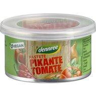 Pate vegan cu rosii, picant, bio 125g Dennree