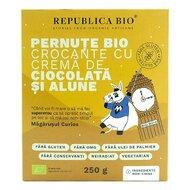 Pernute Bio crocante cu crema de ciocolata si alune FARA GLUTEN Republica BIO, bio, 250 g