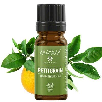 Petitgrain BIO ulei esenţial (bigaradier citrus aurantium) 10 ml