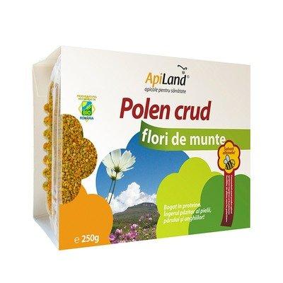 Polen crud de flori de munte, 250gr