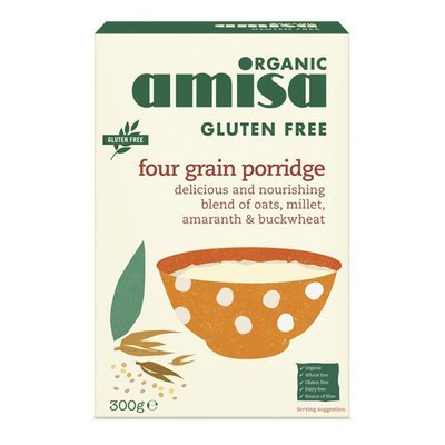 Porridge din 4 cereale fara gluten bio 300g