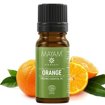Portocală dulce BIO ulei esenţial (citrus sinensis) 10 ml