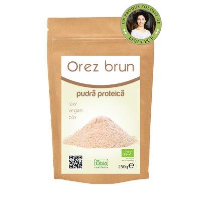 Proteina din orez pudra premium bio 250g PROMO