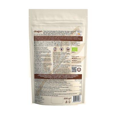 Pudra proteica din seminte de dovleac raw eco 200g DS