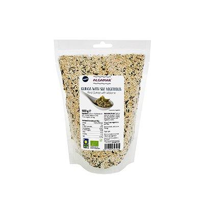 Quinoa cu alge marine bio 500g PROMO