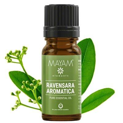 Ravensara ulei esenţial  (ravensara aromatica) 10 ml