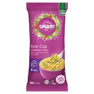 Rice cup (orez) indian curry bio 67g DAVERT