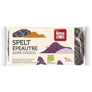 Rondele din spelta expandata cu ciocolata neagra bio 90g Lima