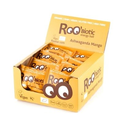 ROObiotic energy ball ashwaganda si mango bio 22g
