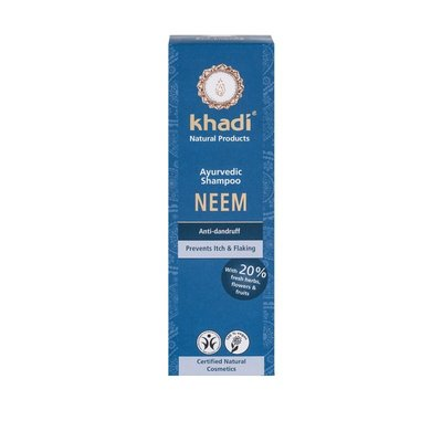 Sampon cu Neem antimatreata Khadi, 210ml