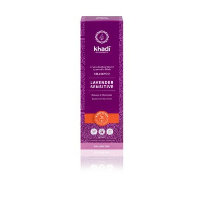 Sampon ayurvedic cu lavanda pentru scalp sensibil, Khadi, 200ml
