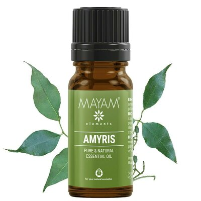 Santal Amyris ulei esenţial (amyris balsamifera) 10 ml