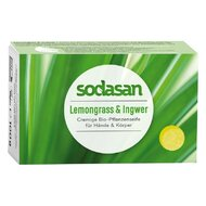 Sapun Crema Bio Lemongrass si Ghimbir 100 Gr Sodasan