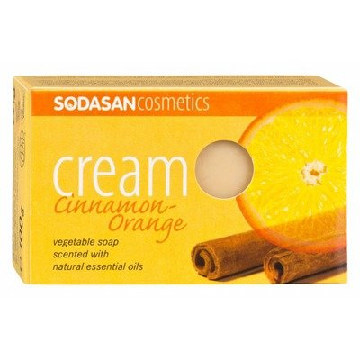 Sapun Crema Bio Scortisoara-Portocala 100 Gr Sodasan