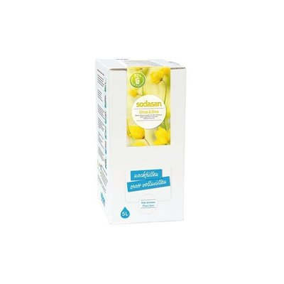 Sapun lichid/gel de dus ecologic Citrice - Masline 5L Sodasan