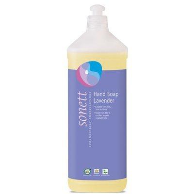Sapun lichid - gel de dus ecologic Lavanda 1L, Sonett