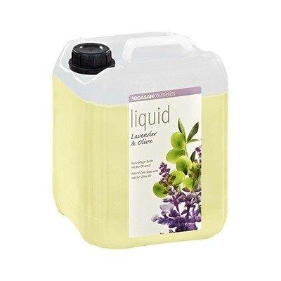 Sapun lichid/gel de dus ecologic Lavanda - Masline 5L Sodasan