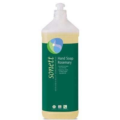 Sapun lichid - gel de dus ecologic Rozmarin 1L, Sonett