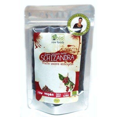 Schizandra fructe deshidratate raw bio 125g