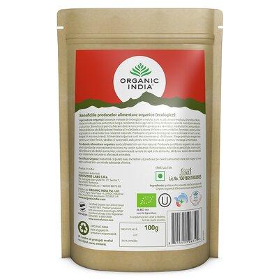Scortisoara Ceylon Pulbere, 100 gr, Organic India