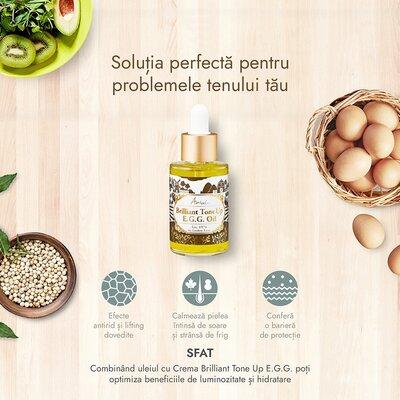 Serum de fata antirid & hranire intensa, brilliant tone up EGG, 40ml, Ariul