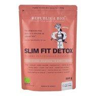 Slim Fit Detox, pulbere functionala ecologica Republica BIO, 200g
