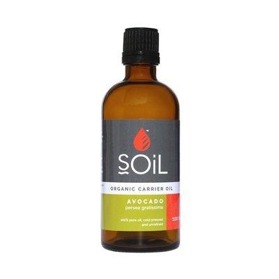 SOiL Ulei Baza Avocado, Organic ECOCERT, 100ml