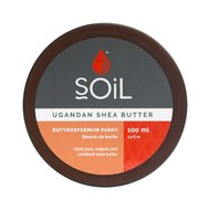 SOiL Unt Shea Fair Trade, Pur, Inodor, Organic ECOCERT, 100ml