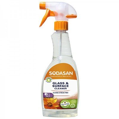 Solutie Bio De Curatare A Geamurilor 500 ml Sodasan