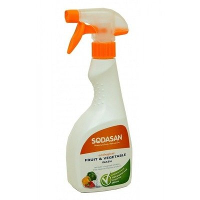 Solutie Bio Pentru Spalat Fructe Si Legume 500 ml Sodasan