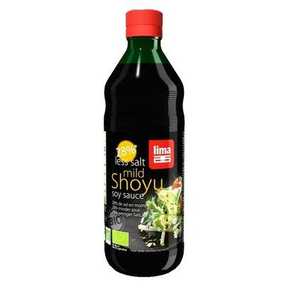 Sos de soia Shoyu bio cu continut redus de sare 250ml