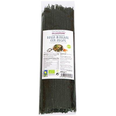 Spaghetti integrale cu alge marine bio 250g