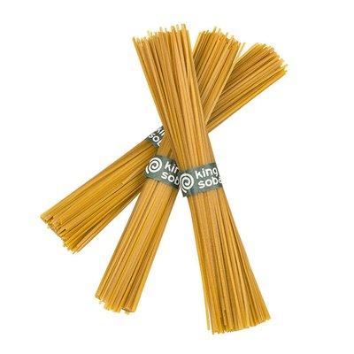 Spaghetti integrale din dovleac, ghimbir si orez brun bio 250g KS