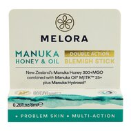 Stick anti-imperfectiuni MELORA cu miere de MANUKA MGO 300+ si ulei de MANUKA MBTK 25+, 8 ml, natural
