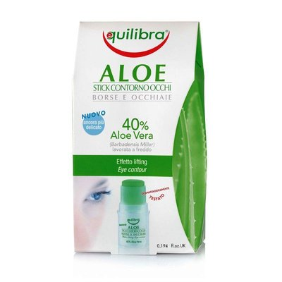 Stick contur ochi cu Aloe Equilibra, 5.5 ml PROMO