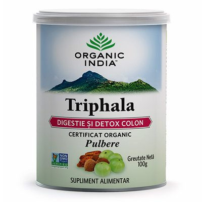 Triphala   Digestie & Detoxifiere Colon, 100 gr