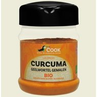 Turmeric pudra bio 200g Cook