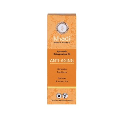 Ulei anti-imbatranire cu plante ayurvedice (ten si corp) Khadi 100ml