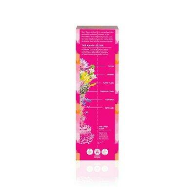 Ulei ayurvedic elixir Lotus Roz Skin and Soul, 100ml - Khadi